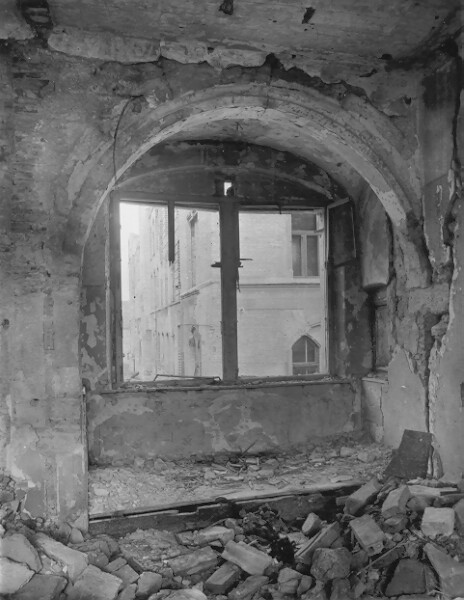 No. 18 Országház street, inner detail after research, 1947