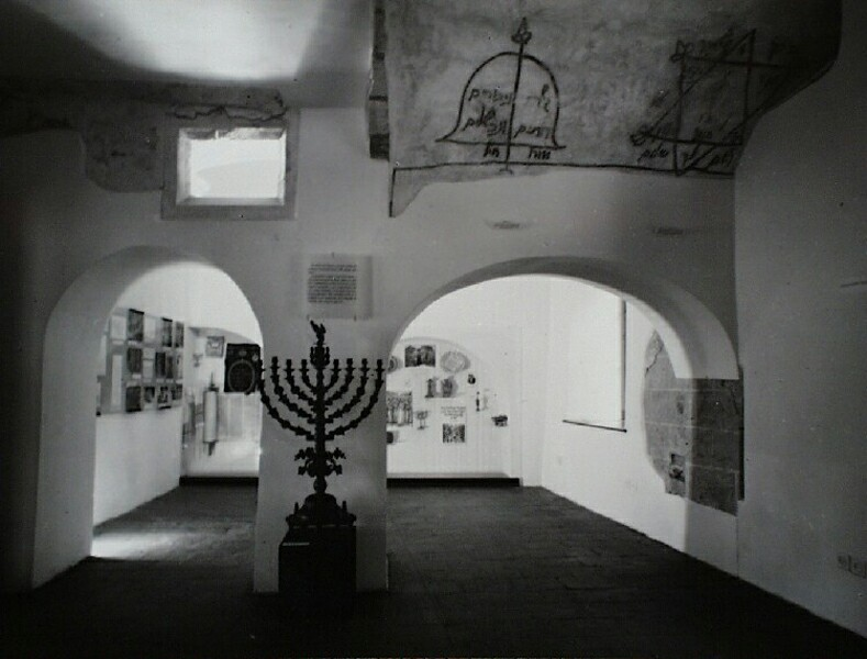 No. 26 Táncsics Mihály street, exhibition in the Jewish chapel, 1967