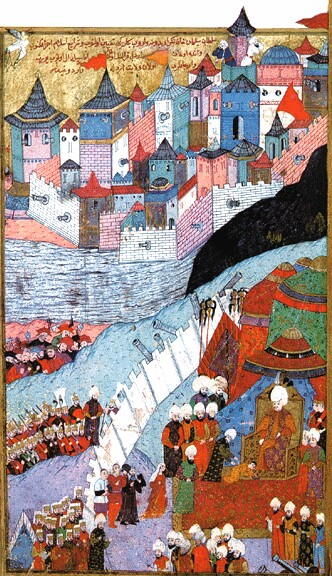 The capture of Buda in 1541