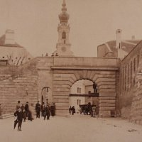 The Bécsi Gates built in 1850. The first half of the 1890s