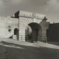 The Bécsi gates finished by 1936, 1936