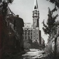 The National Arvchives in ruins, 1945