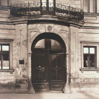 The gates of No. 3 Dísz square, 1910s