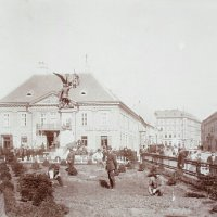 No. 8 Dísz square, the Marcibányi palace, around 1896