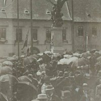 The inauguration of the Soldiers' Memorial, May 1893