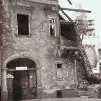 No. 14 Fortuna street in ruins, 1950