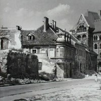 No. 18 Fortuna street in ruins, 1950