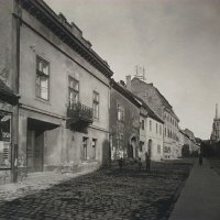 No. 23 Fortuna street, from the house towards Hess András square, 1920s