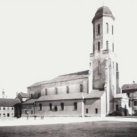 The Garrison church, around 1894