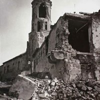 The Garrison church in ruins, 1945