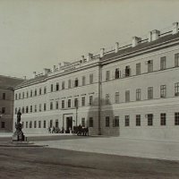 The Nádor barracks, around 1880