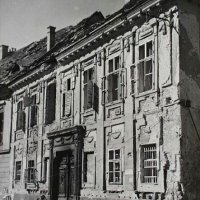 No. 5 Országház street in ruins, end of 1940s
