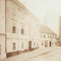 No. 8 and 10 országház street, around 1890