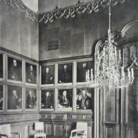 The waiting room of the Ministry of Finance, 1910s