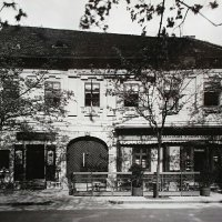 No. 7 Szentháromság street, around 1940