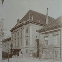 The building of Várszínház, around 1900