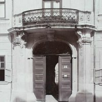 Entrance of No. 7 Táncsics Mihály street, 1907