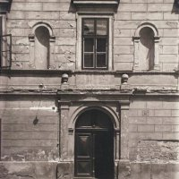 Entrance of No. 13 Táncsics Mihály street, 1920s