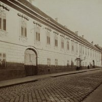 Táncsics Mihály street from No. 25, around 1890