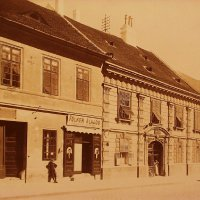 No. 1-3 Tárnok street, around 1890