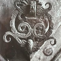 Knocker on the gates of No. 24 Úri street, around 1940