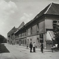 No. 23-25 Úri street from Szentháromság square, 1920s