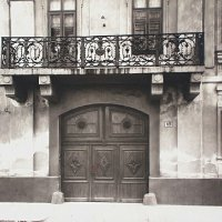 Gates of No. 62 Úri street, 1910s