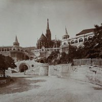 Halászbástya (Fishermen's Bastion) from the east, around 1903