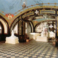 The palatine's crypt in the Buda Castle