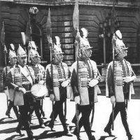 The march of the Crown Guards, 20 August, 1941