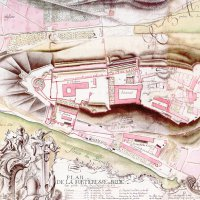Langer: The ground plan of the Buda Castle, 1749