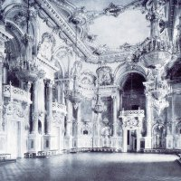 Ball room in the palace, 1912