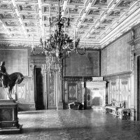 The Hunyadi Mátyás room of the royal palace, 1912