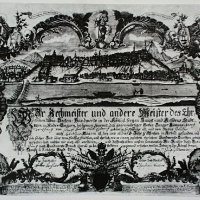 The chart of a Buda guild, 1764