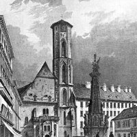 The Matthias Church in the second half of the 19th century