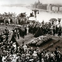 The reception of Italian King Victor Emanuel III in the Castle Garden, 21 May, 1937