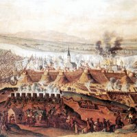 Franz Goeffels: The Siege of Buda, 1686