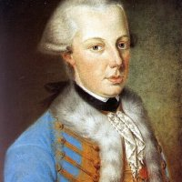 Palatine Archduke Alexander Leopold's portrait, end of 18th century