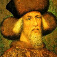 Sigismund of Luxemburg -  a painting by Pisanello
