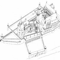 The Royal Palace of Buda in the 1420s - reconstruction