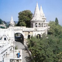The Fishermen's bastion of Frigyes Schulek