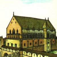The north-eastern facade of the Sigismund palace - reconstruction